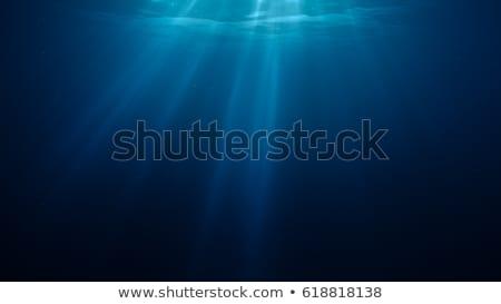 воды · Лучи · природы · свет · фон - Сток-фото © otohime