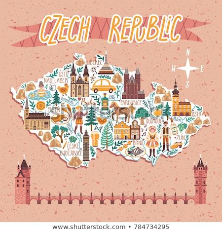 czech republic hand stock photo © Nelosa