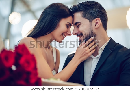romantic valentines woman stock photo © lordalea
