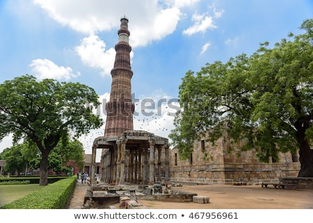 Kő Delhi háttér utazás építészet minta Stock fotó © meinzahn
