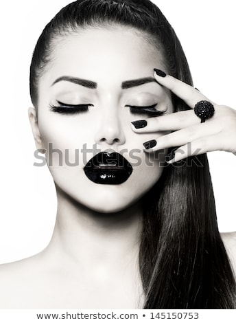 Vogue Style Fashion Model with luxury makeup Stock photo © Geribody
