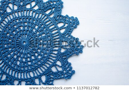 Lacy tablecloth Stock photo © Nneirda