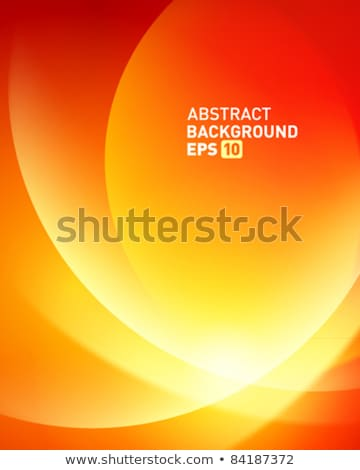 Red smooth twist light lines. EPS 10 Stock photo © beholdereye