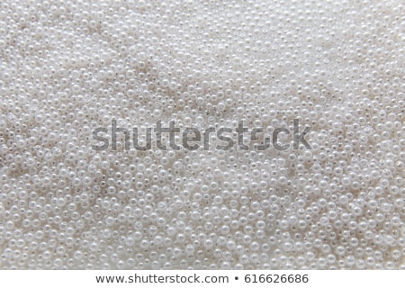Kleurrijk kralen witte mode glas kunst Stockfoto © natika