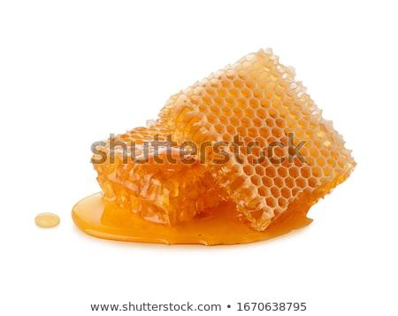 abstract · bee · wax · mooie · natuur · textuur - stockfoto © jonnysek