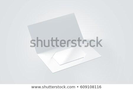 karton · kart · zarf · boş · doku · örgü - stok fotoğraf © manera