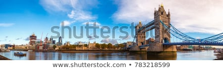 Dél bank folyó Temze London sziluett Stock fotó © anshar
