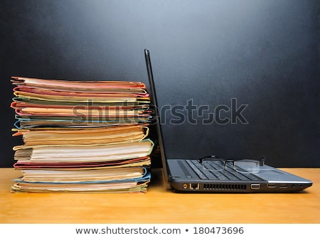 important business records stock photo © vavlt