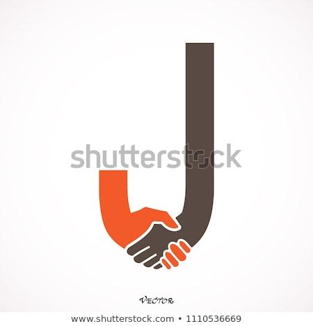 üzleti · megbeszélés · kettő · üzletemberek · öltönyök · együtt · dolgozni · tárgyaló - stock fotó © toocan