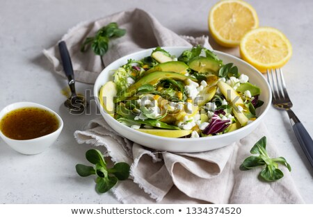 mix of cheese in a bowl stock photo © mpessaris