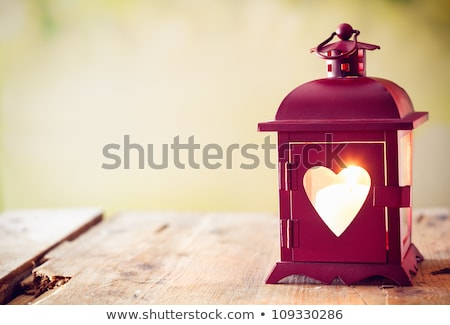 Cute Burning Heart for Valentine's Day Stock photo © Voysla