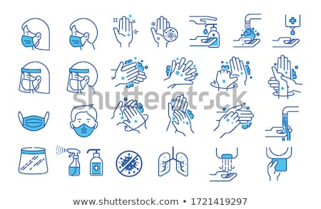 Stock photo: Vector Set Of Shield Signs