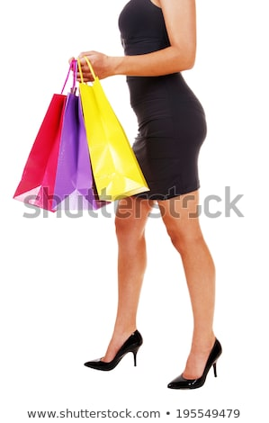 closeup picture of long slim female legs stock photo © majdansky