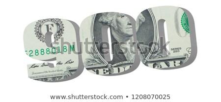 100 to 900 Dollars Stock photo © nazlisart