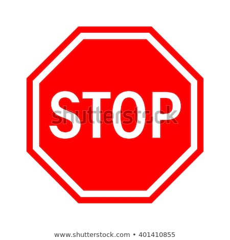 stop sign as traffic signalization stock photo © stevanovicigor