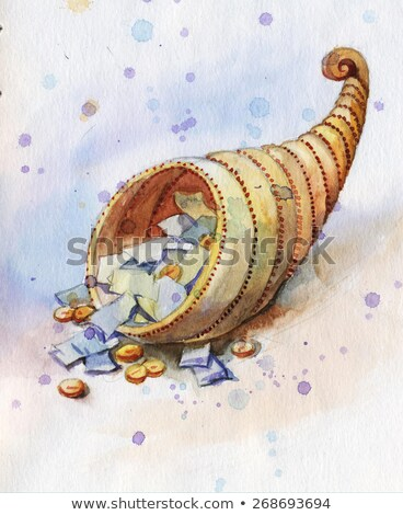 水彩画 宝庫 お金 紙 にログイン 色 ストックフォト © artibelka