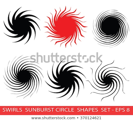 Concept red Twirl background. EPS 8 Stock photo © beholdereye