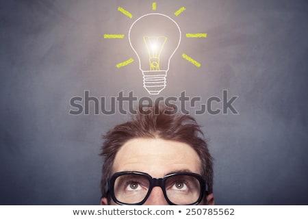 Umani testa idea gesso Foto d'archivio © RAStudio