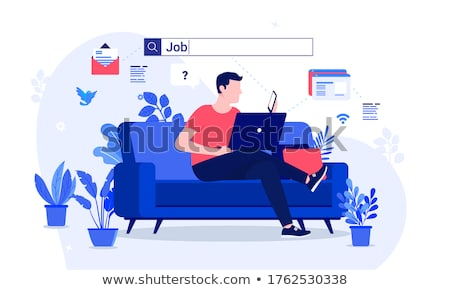 Man search job Stock photo © alphaspirit
