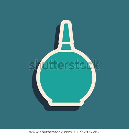 Green rubber pear (enema) Stock photo © shutswis