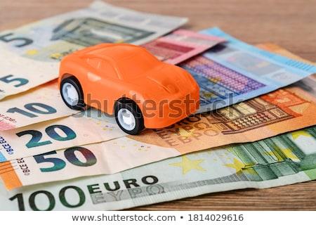 Stok fotoğraf: Para · euro · avrupa · banka · notlar · para