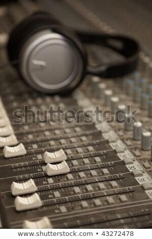 fones · de · ouvido · conselho · Áudio · vários · canal - foto stock © paha_l