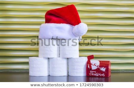 Elenco carta igienica illustrazione mail bagno Foto d'archivio © adrenalina