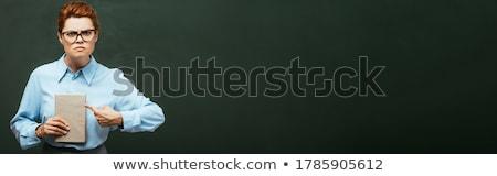 учитель · класс · книга · изолированный · белый · служба - Сток-фото © PetrMalyshev