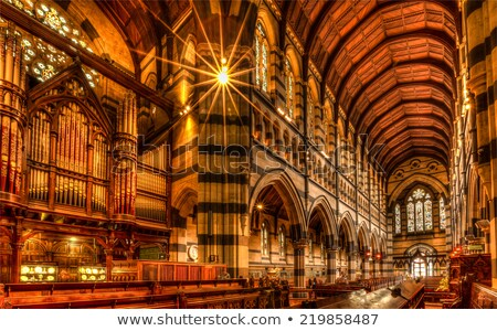 Catedral Melbourne Austrália ensolarado verão dia Foto stock © dirkr