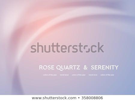 Blurred smooth rose quartz and serenity wavy background Stock photo © saicle