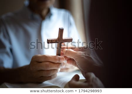 cross nail and crown of thorns of jesus christ stock photo © nito