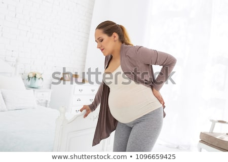 Pregnancy Pain Stock photo © Lightsource