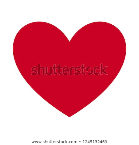 a red heart stock photo © bluering