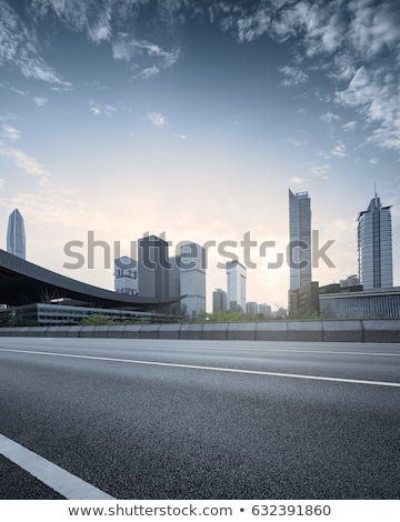 Empty two lane asphalt road highway Stock photo © stevanovicigor