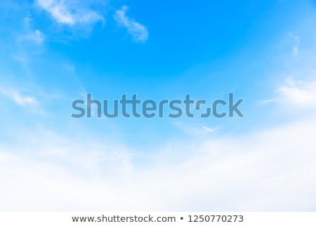 небесный · пейзаж · облака · Blue · Sky · свет · фон - Сток-фото © frankljr