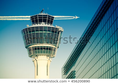 Airport Control Tower Stock photo © 5xinc