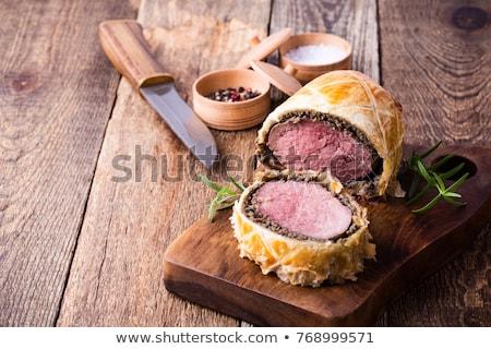 filet mignon en croute Stock photo © M-studio