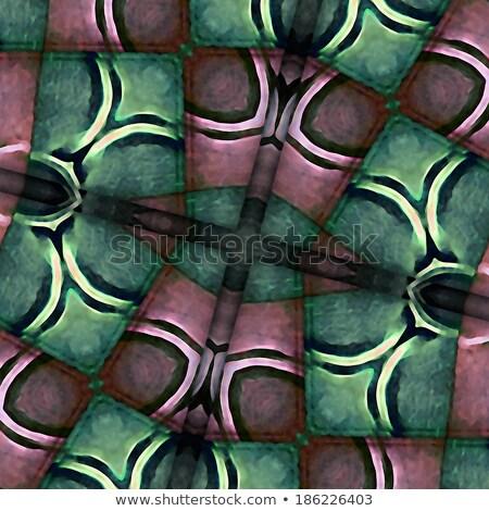 Végtelenített mértani absztrakt művészet nyomtatott szín Stock fotó © CreatorsClub