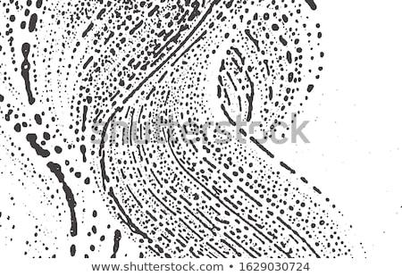 Incredibile sporca nero inchiostro splatter modello Foto d'archivio © SArts