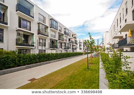 Modern Apartment Building in London Stock photo © fazon1