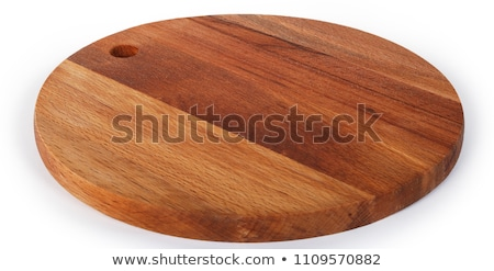 round chopping board Stock photo © Digifoodstock