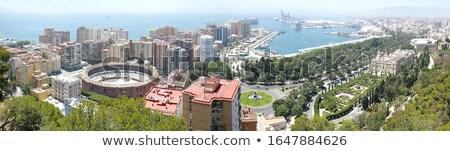 Malaga şehir güzel görmek yaz mavi Stok fotoğraf © -Baks-