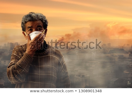air pollution from old factory stock photo © ssuaphoto