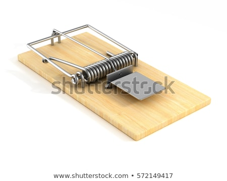 Isolated mouse trap stock photo © njnightsky