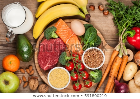 Nutrition And Diet Balance Stock photo © Lightsource