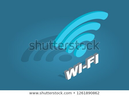 Wi-Fi Flat Raster Icon Stock photo © ahasoft
