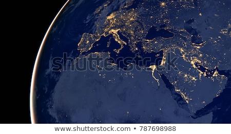 Midden oosten ruimte communie afbeelding 3D Stockfoto © ixstudio
