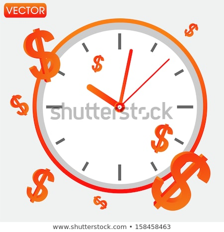 clock dial tax time stock photo © oakozhan