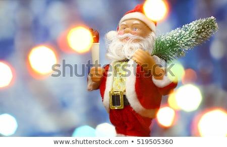 grinalda · luzes · vermelho · verde · azul - foto stock © tanach