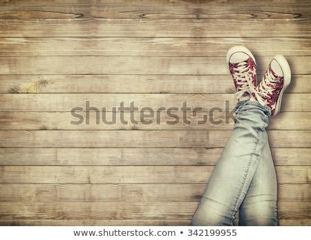 zapatos · decisión · zapato · elección · imagen · mujer · sexy - foto stock © is2